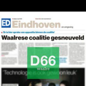 Coalitiebreuk Waalre 2019